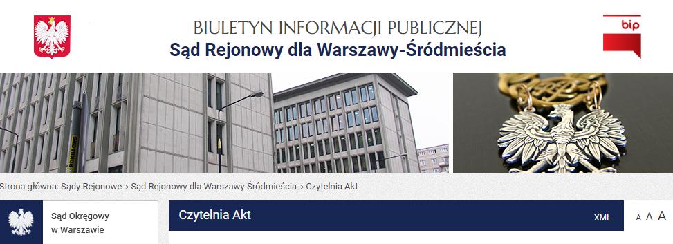 Sąd Rejonowy dla Warszawy-Śródmieścia